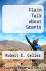 cover of Plain Talk about Grants