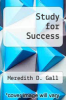 cover of Study for Success