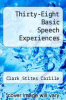 cover of Thirty-Eight Basic Speech Experiences