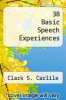 cover of 38 Basic Speech Experiences (10th edition)