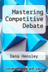 Cover of Mastering Competitive Debate 5 (ISBN 978-0931054594)