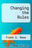 cover of Changing the Rules