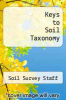 cover of Keys to Soil Taxonomy