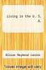 cover of Living in the U. S. A. (4th edition)