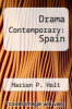 cover of Drama Contemporary: Spain