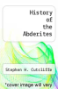 cover of History of the Abderites