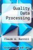 cover of Quality Data Processing