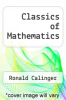 cover of Classics of Mathematics