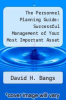 cover of The Personnel Planning Guide: Successful Management of Your Most Important Asset (2nd edition)