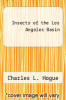 cover of Insects of the Lost Angeles Basin (3rd edition)