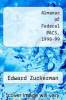 cover of Almanac of Federal PACS, 1998-99 (7th edition)