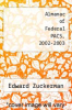 cover of Almanac of Federal PACS, 2002-2003
