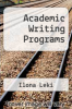 cover of Academic Writing Programs