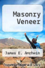 cover of Masonry Veneer (2nd edition)