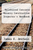 cover of Reinforced Concrete Masonry Construction Inspector`s Handbook (3rd edition)