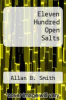 cover of Eleven Hundred Open Salts