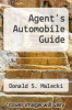 cover of Agent`s Automobile Guide