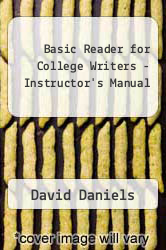 Cover of Basic Reader for College Writers - Instructor
