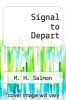 cover of Signal to Depart