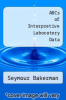 cover of ABCs of Interpretive Laboratory Data (2nd edition)