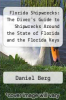 cover of Florida Shipwrecks: The Diver`s Guide to Shipwrecks Around the State of Florida and the Florida Keys