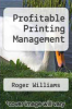cover of Profitable Printing Management
