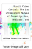 cover of Occult Crime Control: The Law Enforcement Manual of Investigation, Analysis, and Prevention