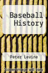 Cover of Baseball History EDITIONDESC (ISBN 978-0962513213)