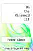 cover of On the Vineyard III