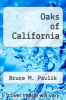cover of Oaks of California
