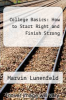 cover of College Basics: How to Start Right and Finish Strong (2nd edition)