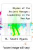 cover of Rhymes of the Ancient Manager: Leadership in the New Age