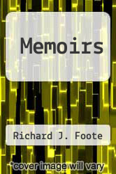 Cover of Memoirs EDITIONDESC (ISBN 978-0965428200)