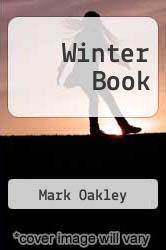 Winter Book by Mark Oakley - ISBN 9780968102541