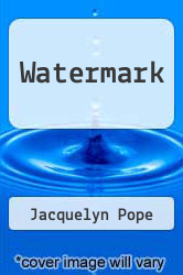 Cover of Watermark  (ISBN 978-0975919729)
