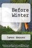 cover of Before Winter