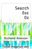 cover of Search for Oz
