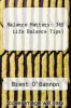 cover of Balance Matters: 365 Life Balance Tips!
