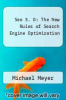 cover of Seo 3. 0: The New Rules of Search Engine Optimization