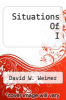 cover of Situations Of I