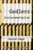 cover of Godless Environmentalism