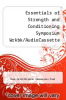 cover of Essentials of Strength and Conditioning Symposium Wrkbk/AudioCassette