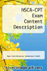 cover of NSCA-CPT Exam Content Description