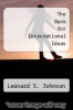 cover of The Bank for International Ideas (3rd edition)