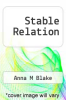 cover of Stable Relation