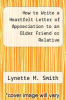 cover of How to Write a Heartfelt Letter of Appreciation to an Older Friend or Relative