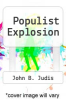 cover of The Populist Explosion