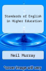 cover of Standards of English in Higher Education