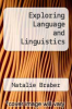 cover of Exploring Language and Linguistics