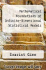 cover of Mathematical Foundations of Infinite-Dimensional Statistical Models